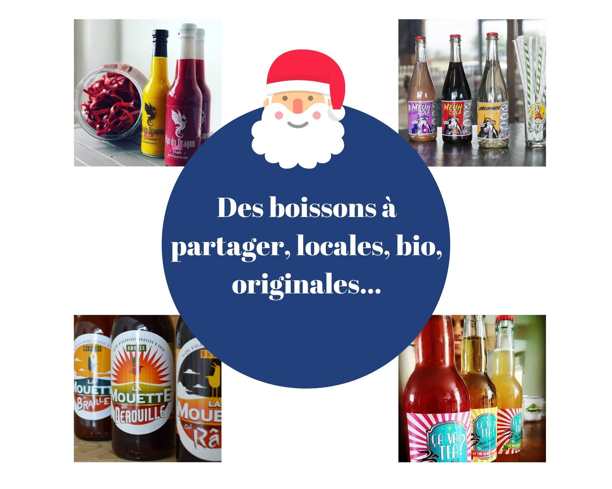 Pour Noël, découvrez notre sélection… boissons !